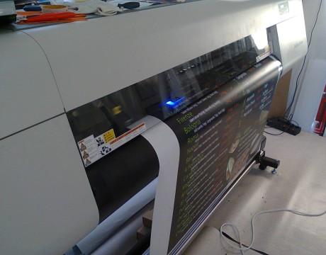 Print autocolant PVC