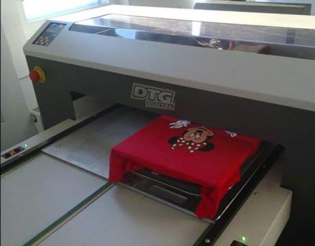 Print direct pe textil