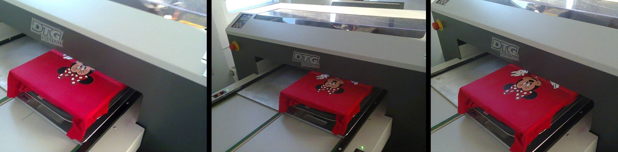DTG Direct Printing Machine